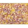 Seedbead 8/0 Multi Topaz Pink